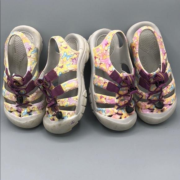 0920d66003f27 Keen Shoes   Sunsport Girls Molded Rubber Sandals Size 2   Poshmark